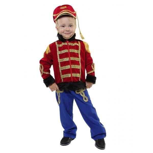 Маскарадный костюм Гусар Люкс (красный кивер) арт. 101 051 116