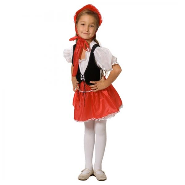 Маскарадный костюм Красная шапочка арт. 102 003 110
