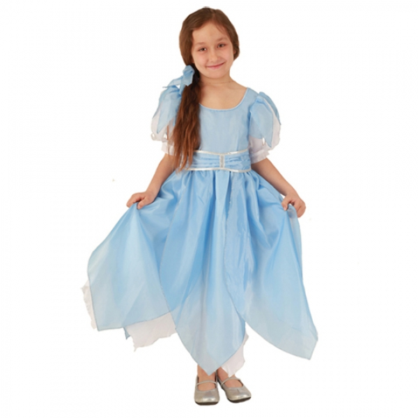 Маскарадный костюм Дюймовочка (голубой цвет) арт. 102 005 125