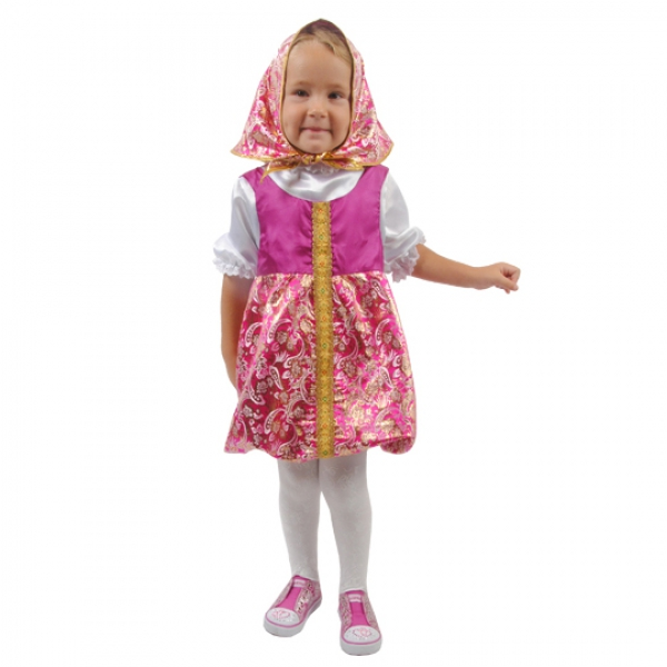 Маскарадный костюм Матрешка Люкс арт. 102 051 104