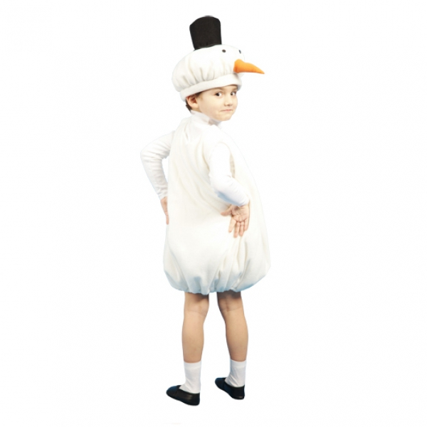 Маскарадный костюм Снеговик арт. 104004094