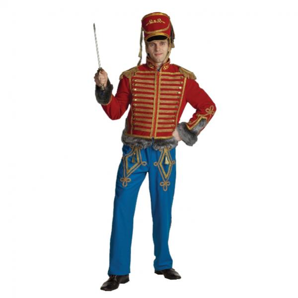 Маскарадный костюм Гусар синий арт. 1133-2