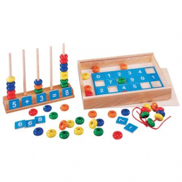 Детская развивающая игра для обучения счёту Сложение