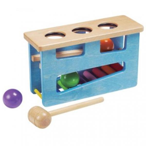 Детская развивающая игра Шарики с молоточком