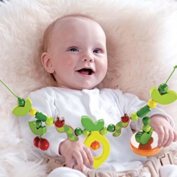 Детская развивающая Игрушка-растяжка для коляски