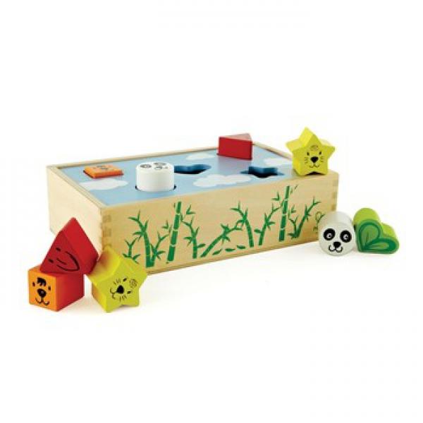 Детская развивающая игра Сортер Домик для животных