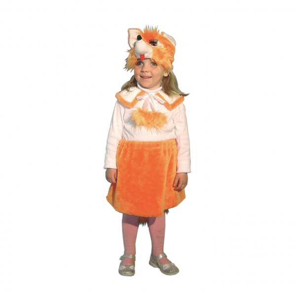 Маскарадный костюм Лиса кокетка арт. 7C-638