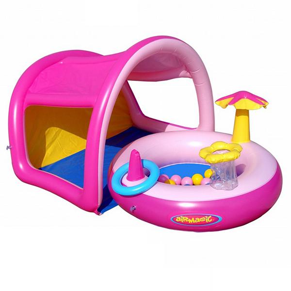 Детский бассейн с домиком