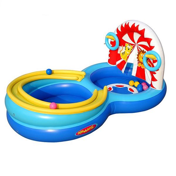 Детский надувной бассейн Цирк