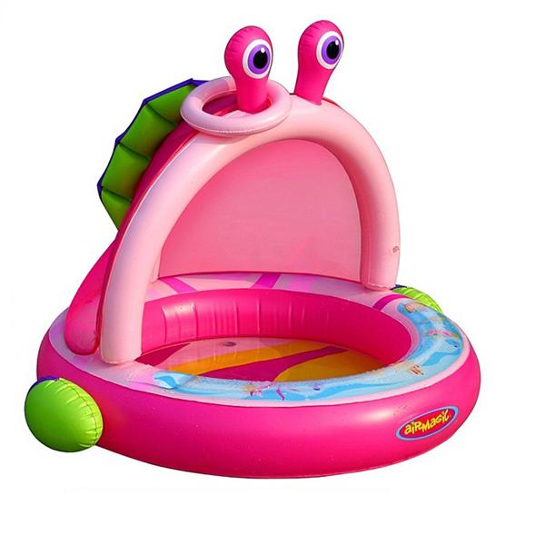 Надувной бассейн детский Крабик