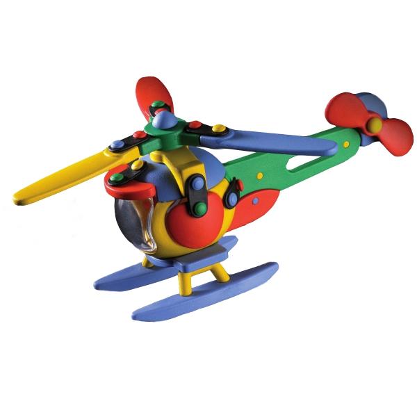 Детский игровой конструктор Вертолет