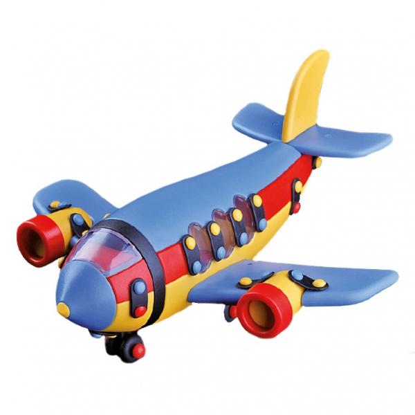 Детский игровой конструктор Большой аэробус