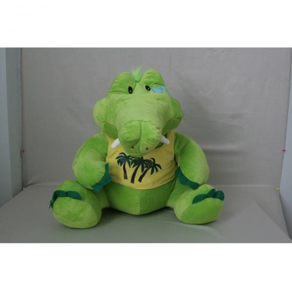 Мягкая игрушка Крокодил в майке арт. 91065