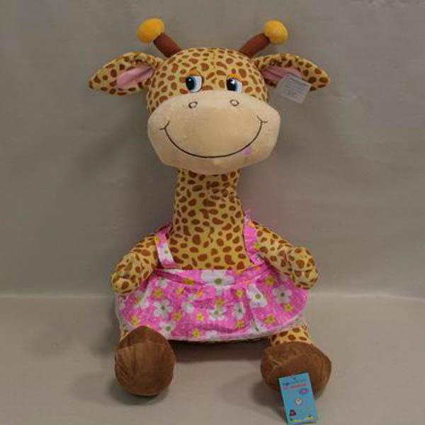 Мягкая игрушка Жираф в сарафане арт. 91078