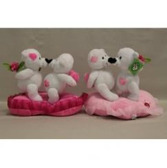 Мягкая игрушка Мишка Мишки на сердце