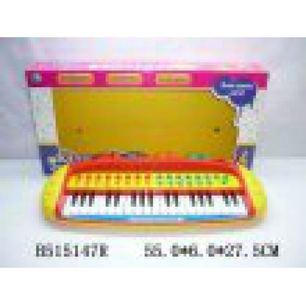 Детский синтезатор со светом и звуком