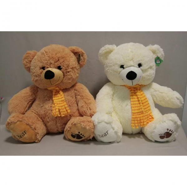 Мягкая игрушка Мишка в шарфе арт. 95100