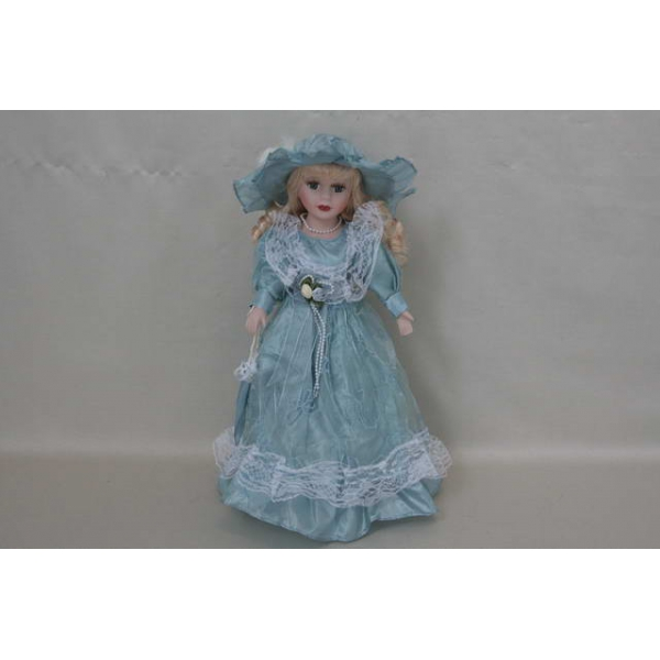 Фарфоровая кукла Eva