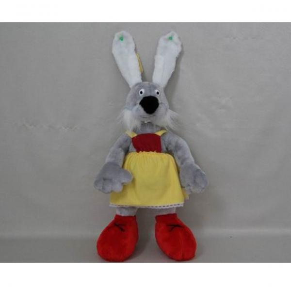 Мягкая игрушка Зайчик в сарафане арт. 95305