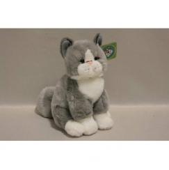 Мягкая игрушка Котенок серый