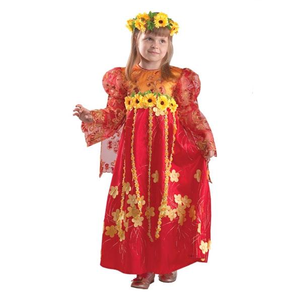 Карнавальный костюм Лето Красное