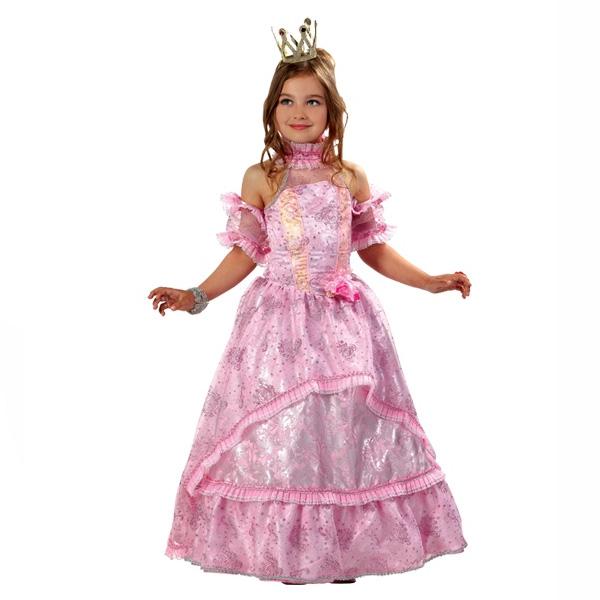 Карнавальный костюм Золушка-Принцесса розовая
