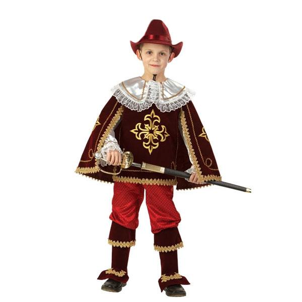 Карнавальный костюм Мушкетер Короля бордо