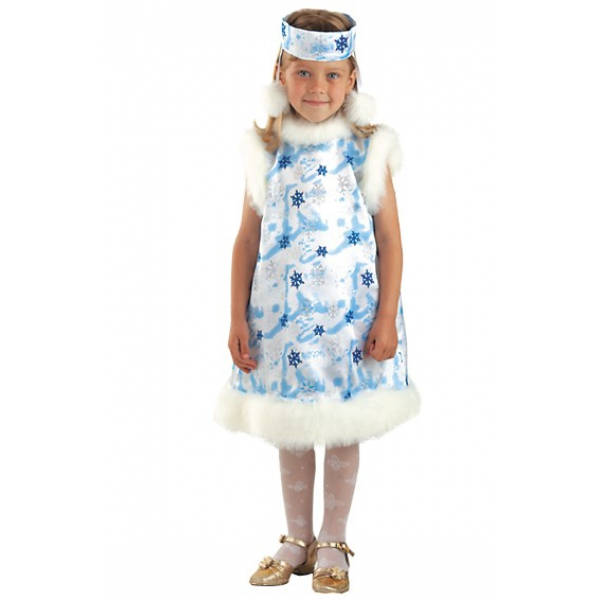 Карнавальный костюм Снежинка арт. 222