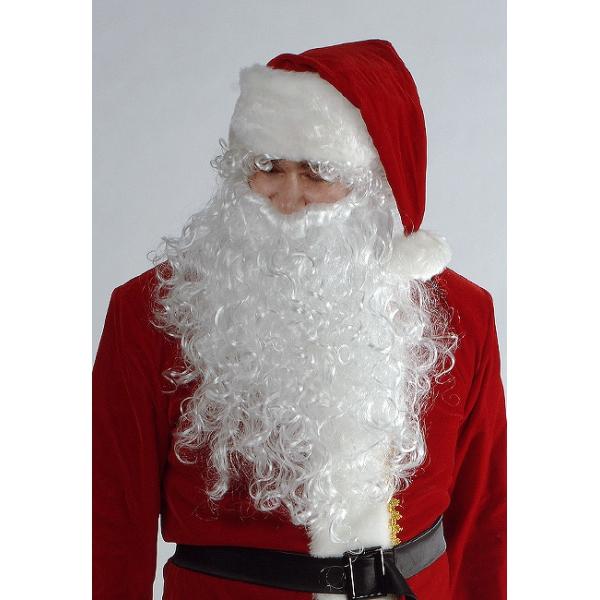 Комплект парик с бородой для Деда Мороза (San)