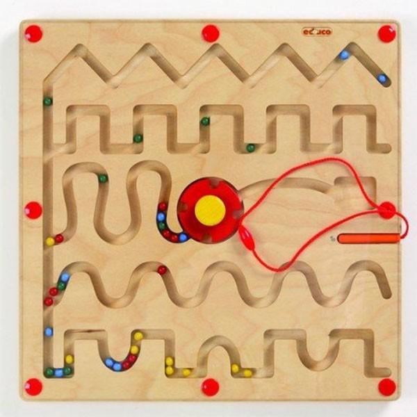 Детская развивающая настольная игра Магнитный лабиринт №1 арт. 522392