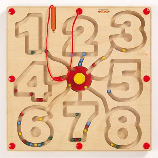 Детская развивающая настольная игра Магнитный лабиринт «Числа» арт. 522391