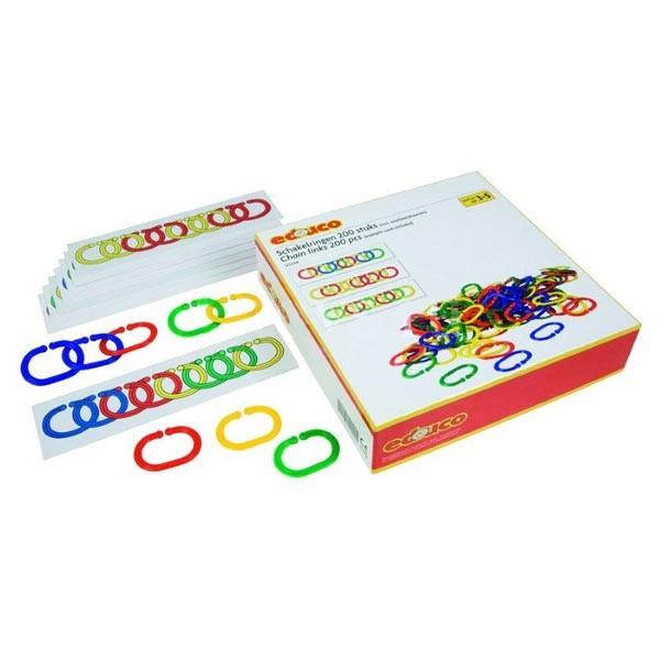 Детская развивающая настольная игра Соедини цепь арт 523058