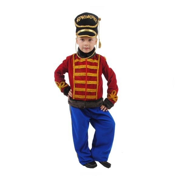 Карнавальный костюм Гусар Люкс (черный кивер) арт. 101 051 164