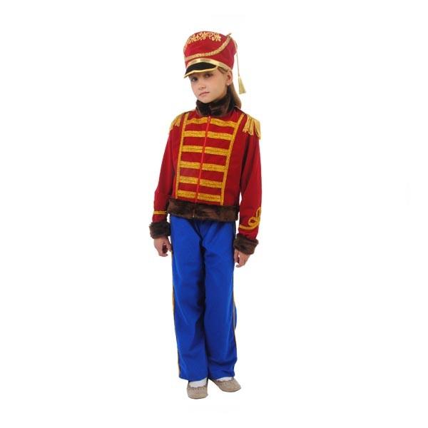 Карнавальный костюм Гусар Люкс (красный кивер) арт. 101 050 164
