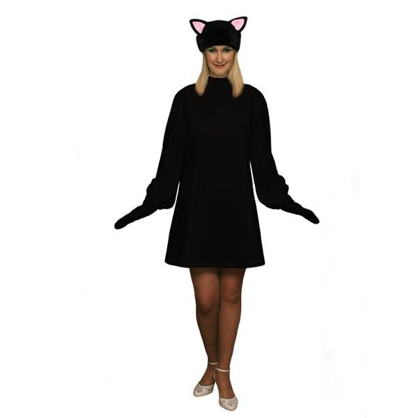 Карнавальный костюм Черная кошка арт KKVd-2ch