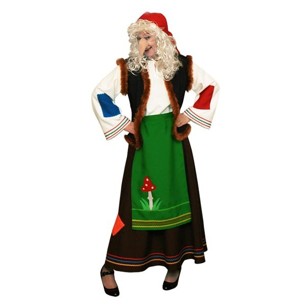 Карнавальный костюм Баба Яга арт KKVd-58-1