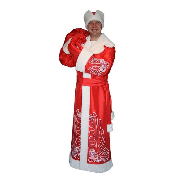 Карнавальный костюм Деда Мороза арт M-105k