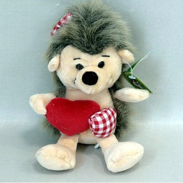 Мягкая игрушка Ежик с сердцем