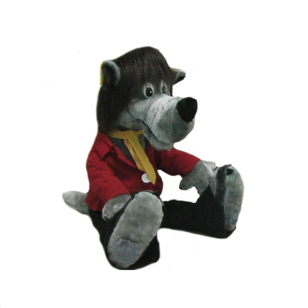 Мягкая игрушка Волк-хулиган