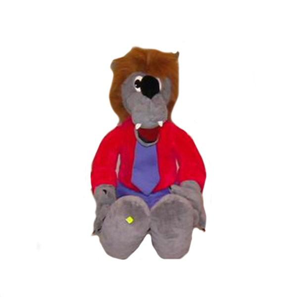 Мягкая игрушка Волк Задира