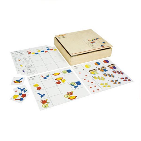 Детская развивающая настольная игра «Двойная игра» арт. 522919