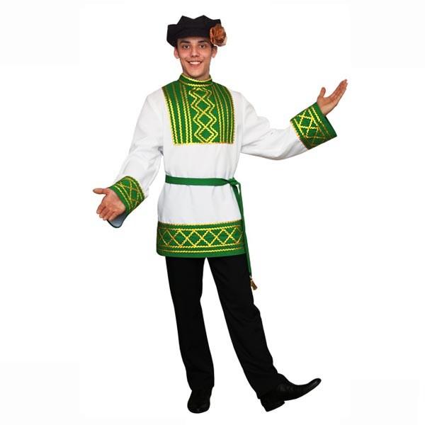 Брюки для русского народного карнавального костюма арт NB-1ch
