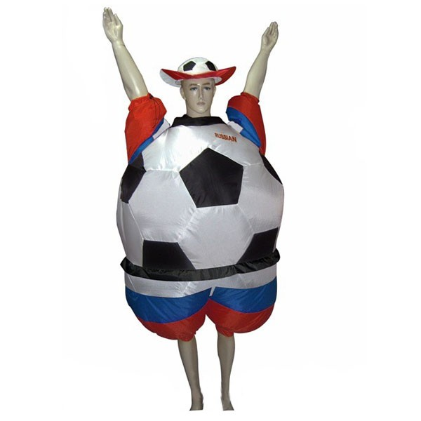 Надувной костюм Футбольный Фанат арт. NK748