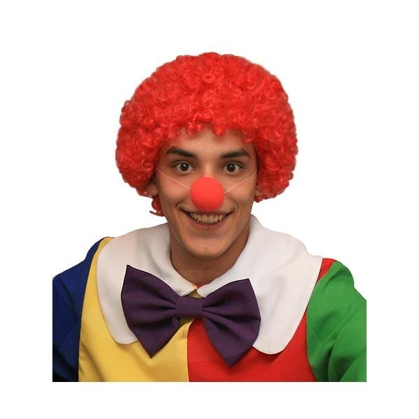 Карнавальный аксессуар Огненно - рыжий парик для клоуна арт PK-or