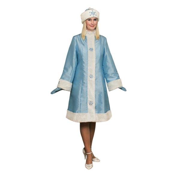 Карнавальный костюм Снегурочки арт S-103g