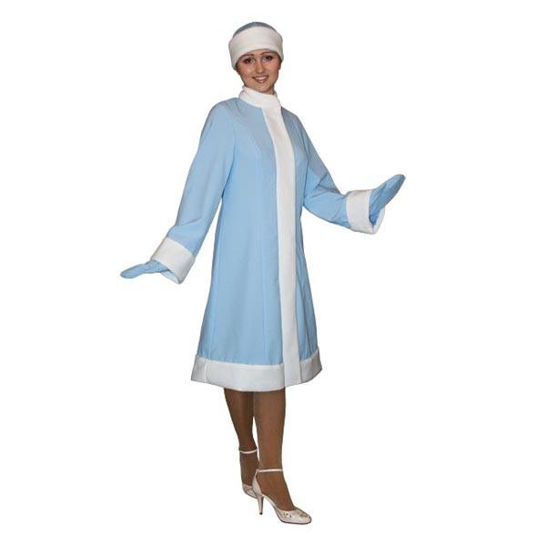 Карнавальный костюм Снегурочки арт S-1g