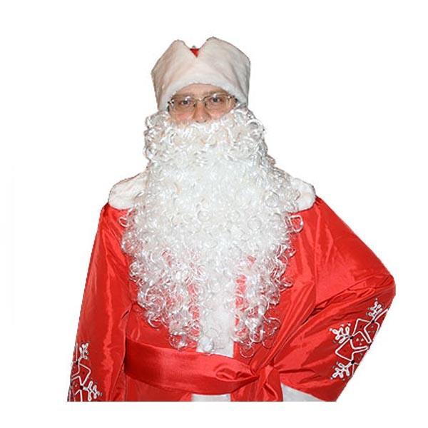 Борода для Санта Клауса арт sh-2005-1