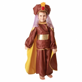 Маскарадный костюм Восточный принц (коричневый) арт. 101 013 129