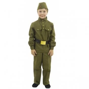 Костюм Гимнастерка с прямыми брюками для малышей 108 005-1