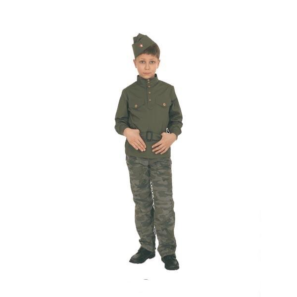 Карнавальный костюм Гимнастерка подростковая 108 001-2